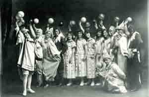 Biddeford High School pageant, 1915